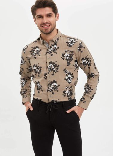 DeFacto Gömlek Bej
